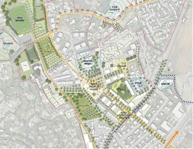 rénovation urbaine d'un quartier