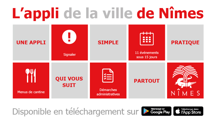 """Nîmes"", la nouvelle application smartphone de la Ville"
